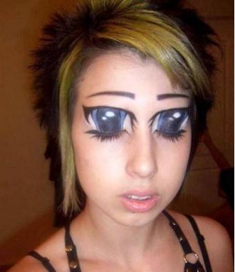 Creapy eyes