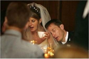 Heftig hoor, je eigen bruiloft...