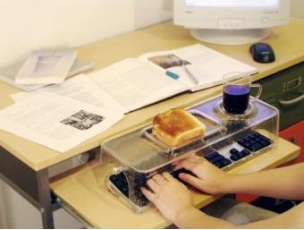 Geen kruimels meer in je toetsenbord