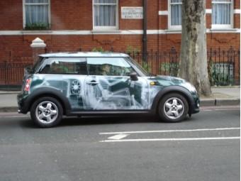 Good paint! Mini Cooper X-ray