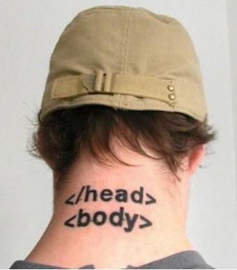 html5 head body