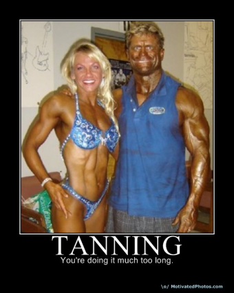 Tanning - You're doing it wrong!